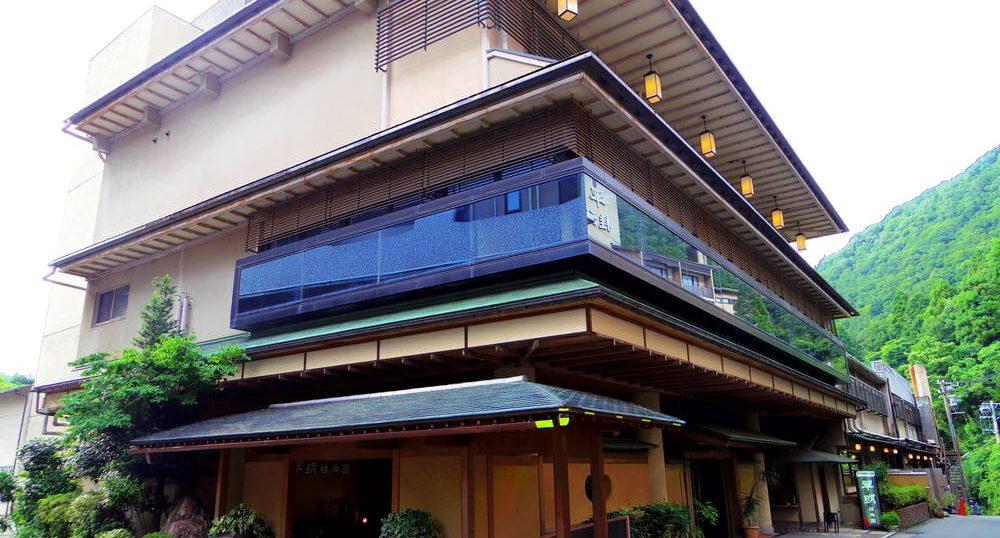 温泉旅館翠明の外観