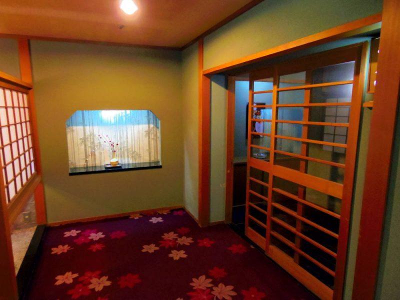 部屋の入り口