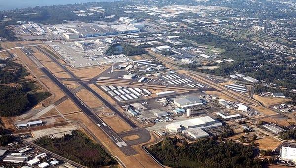 【ニュース】ボーイング工場から飛ぶ定期航空便?