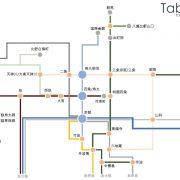 京都路線図