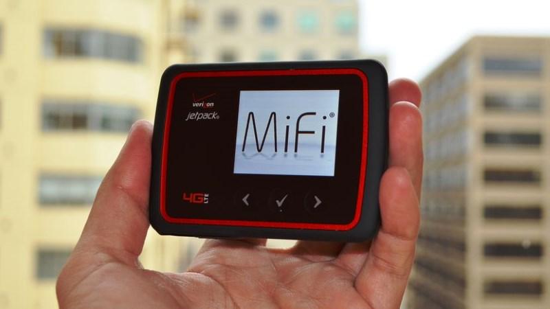 Verizon系のモバイルルータMi-Fi