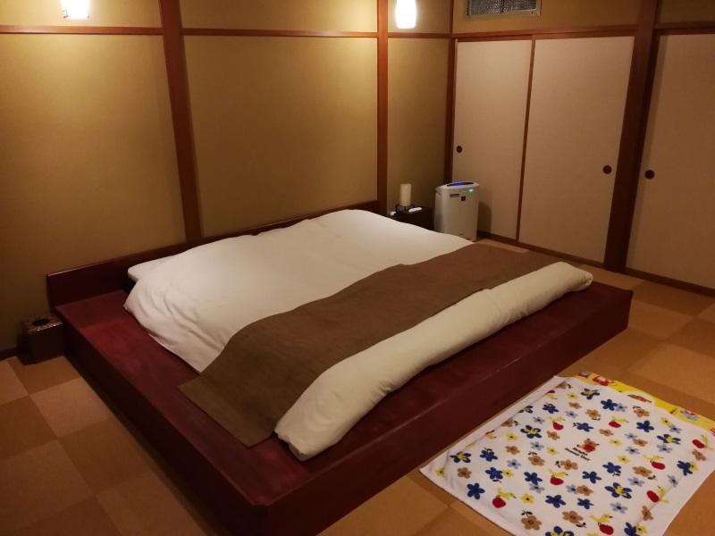 瑞垣の寝室