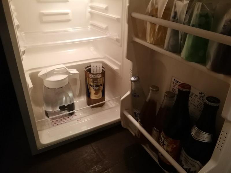 冷蔵庫の中身(ビール・ソフトドリンク)