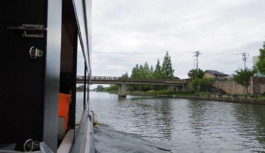 【富山県富山市】富岩水上ラインの運河クルーズのおすすめコースは?予約や席確保の情報も。
