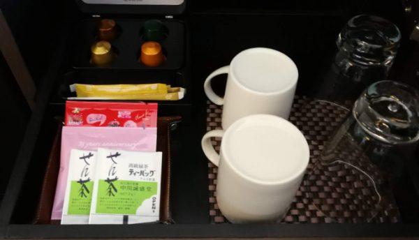 お茶も常備されています