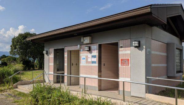 湖岸緑地北山田のトイレ