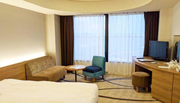 琵琶湖大津プリンスホテルの部屋
