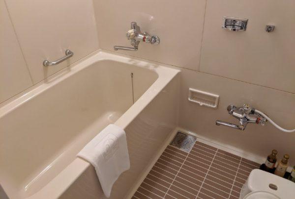 琵琶湖大津プリンスホテルの客室のお風呂