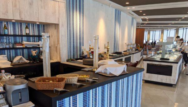 琵琶湖大津プリンスホテルの朝食ビュッフェ