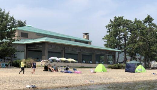 奥琵琶湖マキノグランドパークホテルでプライベートビーチ満喫してみた!